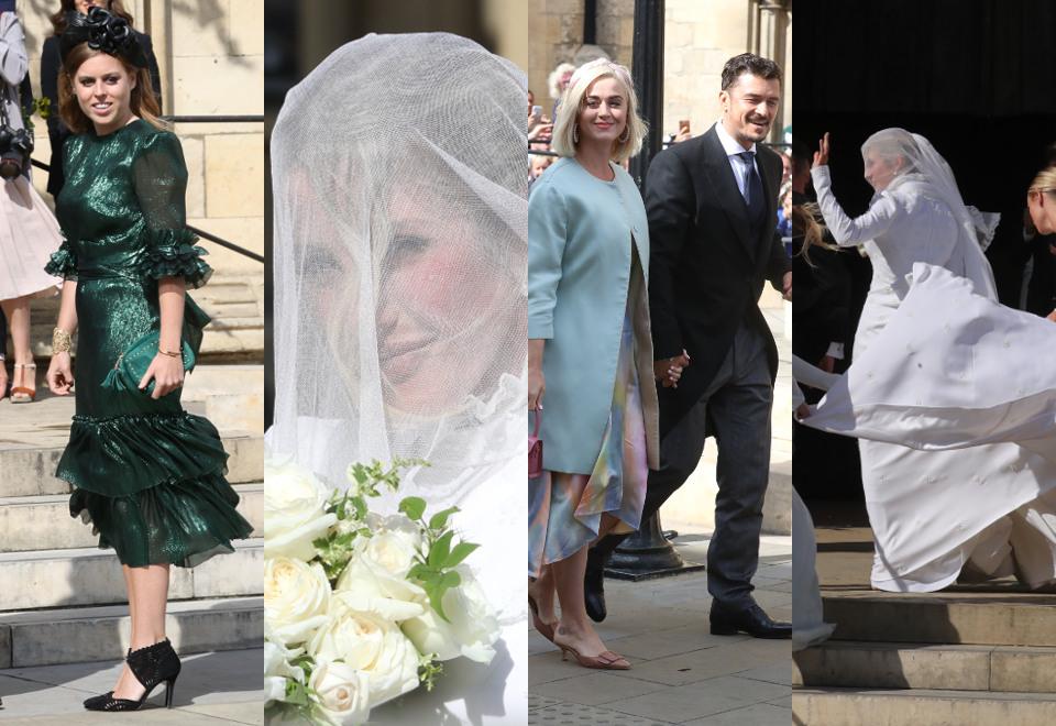 Ellie Goulding S Fairytale Wedding Guests Include Katy