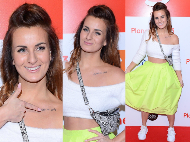 Lejdi Patrycja Wieja Plays Arm And Belly At The Premiere Of Planet